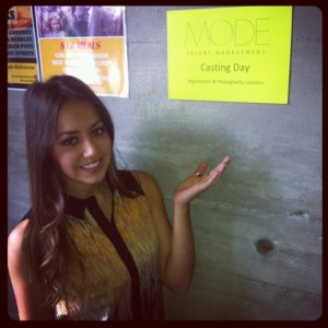 Mode Talent Management Casting Day