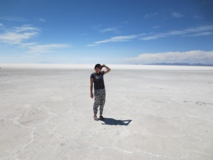 Infinite possibilities in the Salt Flats of Uyuni Bolivia