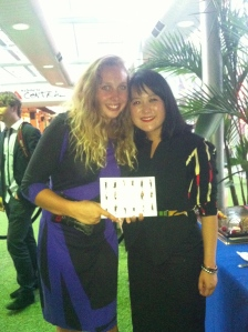 Meeting wonderful people in Business such as Cheryl Lin who inspired me. Love Melbourne for this.