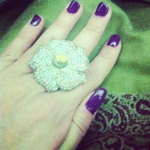 Celebratory manicure