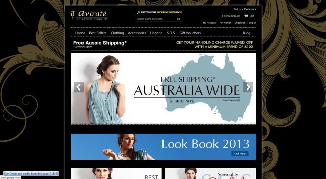 www.aviratefashion.com.au