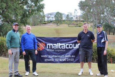 Maltacourt Logistics Winning team