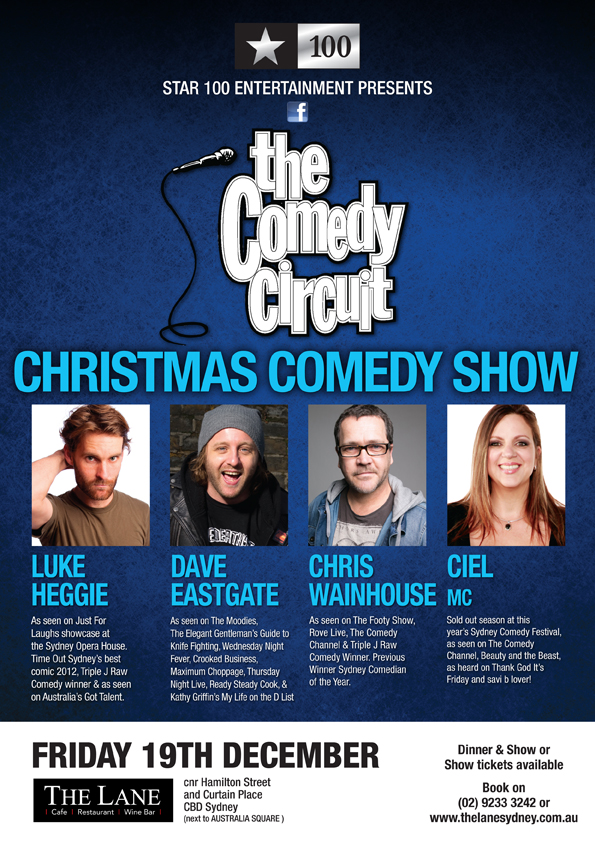 Comedy Circuit_Christmas Comedy Show POSTER