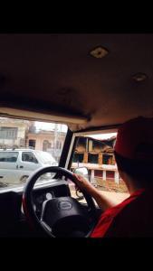 Driving into Gorkha